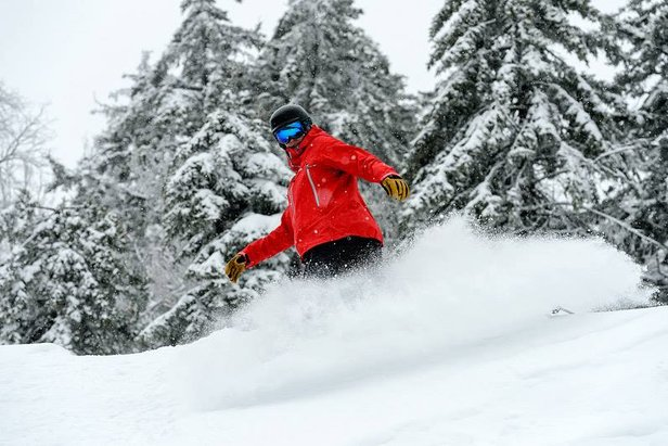 Enjoy a side of fresh snow this Thanksgiving at Snowshoe.