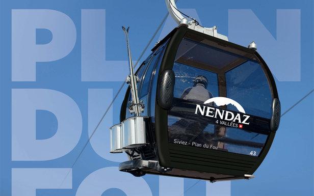 Nouvelle télécabine de NEndaz - ©Nendaz Tourisme