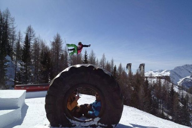 Valmalenco, Snowboard al Palupark