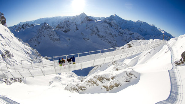 Il ponte sospeso più elevato d'Europa - Titlis, Engelberg (Svizzera)