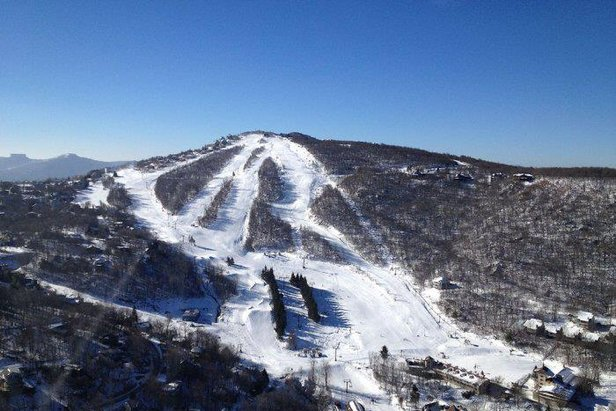 Last-Minute Lodging Deals for Beginners in the Mid-Atlantic - ©Beech Mountain Resort
