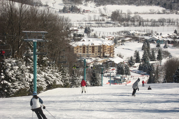 Perfect conditions at Holiday Valley. - ©Holiday Valley