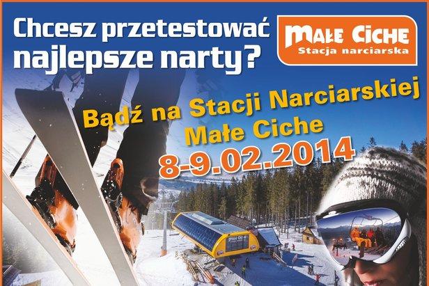 Test ski - ©Stacja Narciarska Małe Ciche