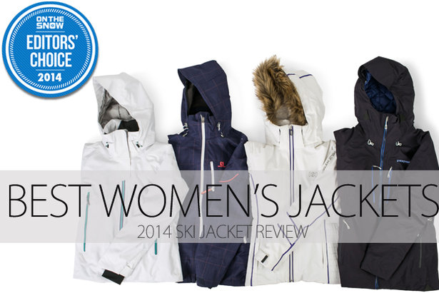 Women Ski Jacket Editors Choice 2014