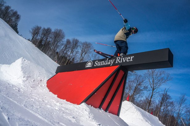 The 6th Annual Simon Dumont Cup will christen the new T72 park at Sunday River. - ©Sunday River