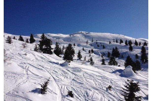 Andalo - Neve di Marzo 2014