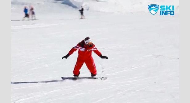 Corso di Snowboard - Lezione #9 - Curva Elementare