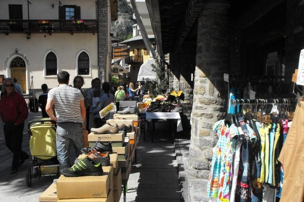 Courmayeur, AO - Fura Totte, shopping a Courmayeur