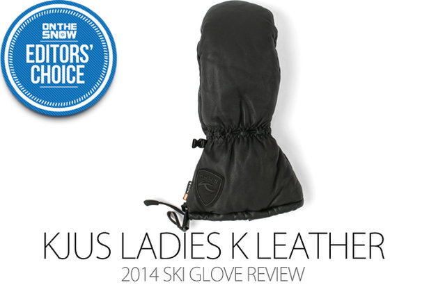 KJUS Ladies K Leather Mitten - ©Julia Vandenoever
