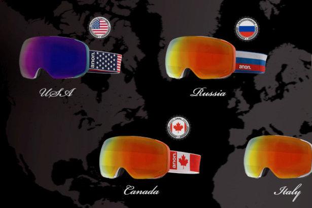 Le maschere olimpiche di Anon.