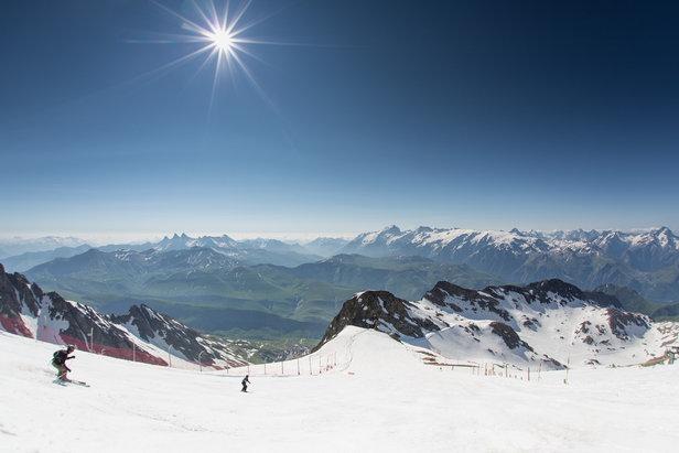 Ouverture du domaine de ski d 39 t de l 39 alpe d 39 huez skiinfo - Office du tourisme de l alpes d huez ...