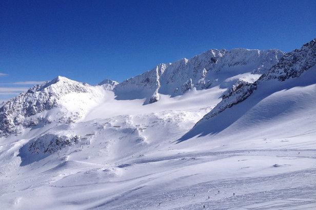 Stubaier Gletscher am 6.3.2014 - ©Facebook-Fanpage Stubaier Gletscher