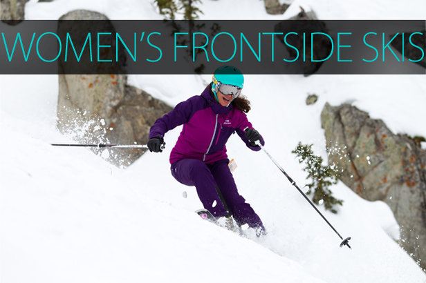 Women's 2015 Frontside Skis