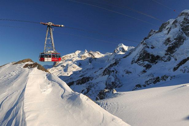 Gondel auf das Klein Matterhorn - ©ZBAG