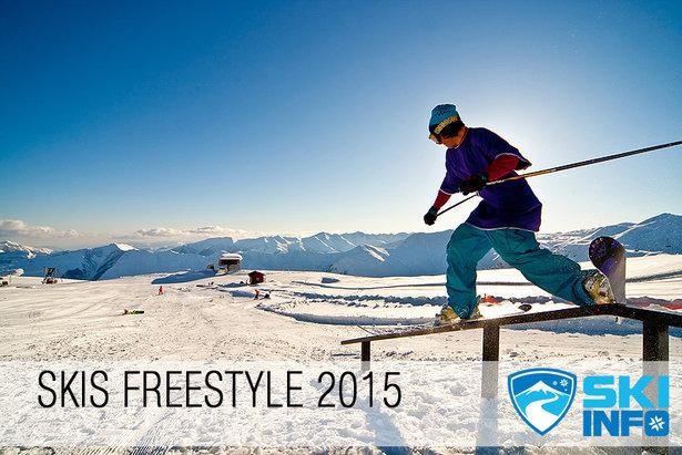 Skiinfo vous présente sa sélection de skis Freestyle 2015 - ©Ivan chudakov - Fotolia.com