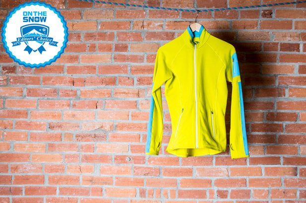 2015 women's mid layers Editors' Choice: Icebreaker Atom Long Sleeve Zip  - ©Liam Doran