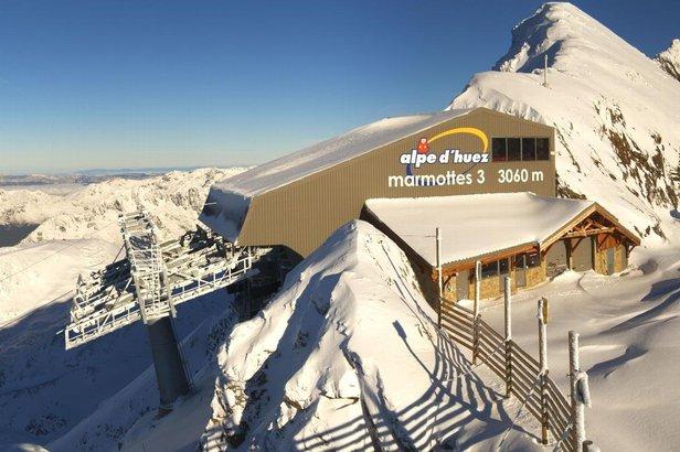 neige en altitude - ©OT Alpe d'Huez / Katalys