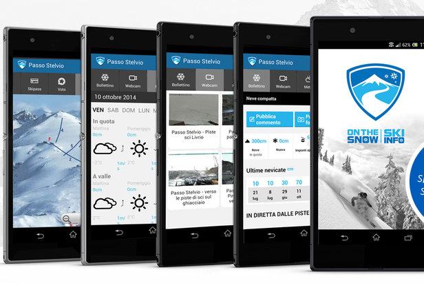 5 motivi per scaricare l' App Skiinfo Neve & Sci