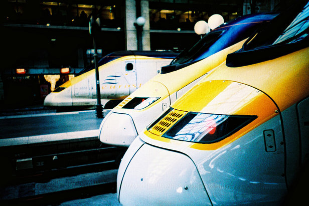 Hop on the Eurostar from London to Geneva or Bourg St Maurice for easy access to the French or Swiss Alps - ©Slimmer Jimmer