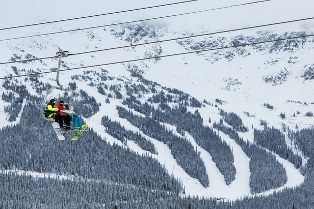 Opening day at Whistler in November 2014. - ©Mitch Winton/Coast Mountain Photography