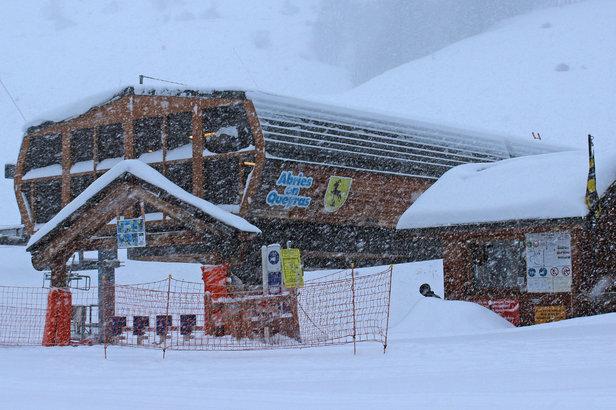 Retour d 39 est dans le queyras 1 m tre de neige fra che attendu d 39 ici demain skiinfo - Office de tourisme arvieux ...