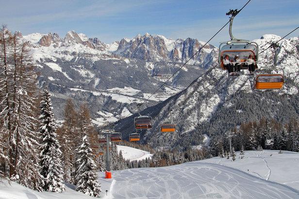 Le migliori 10 piste della Val di Fassa - 9) Skiarea Lusia Piavac - ©Val di Fassa / R. Bernard