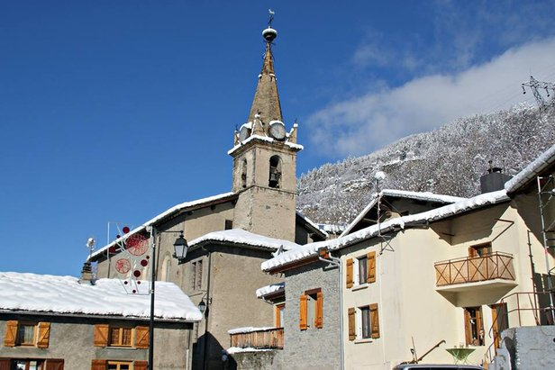Quiet, pretty village of Orelle in Les 3 Vallees - ©Orelle