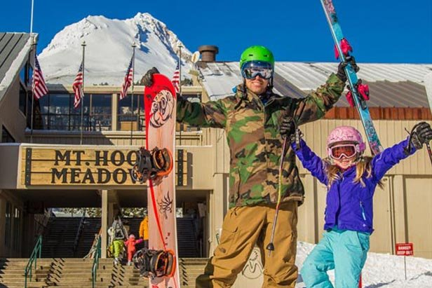 Three more days at Mt. Hood Meadows - ©Dave Tragethon Executive Director of P.R.