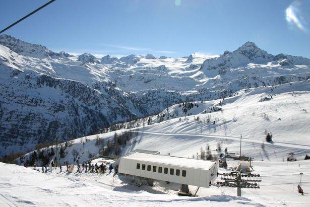 Seggiovia a La Thuile, Valle d'Aosta