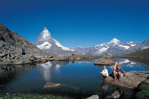Nella Mattertal (Valle di Zermatt), Svizzera. Credit: swiss-image.ch/Christof Sonderegger