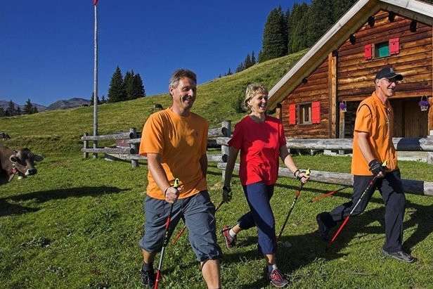 Nordic Walking Trails Flumserberg