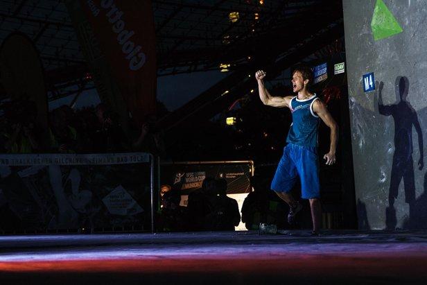 Shauna Coxsey und Alexey Rubtsov gewinnen Boulder-Weltcup-Finale in München - Hojer verpasst Titelverteidigung knapp