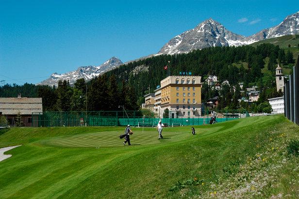Kulm Golf Course St. Moritz
