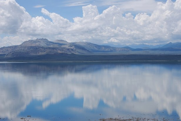 Glen Plake likes to explore the north shore of Mono Lake when he visits Mammoth in the summer. - ©Mammoth Lakes