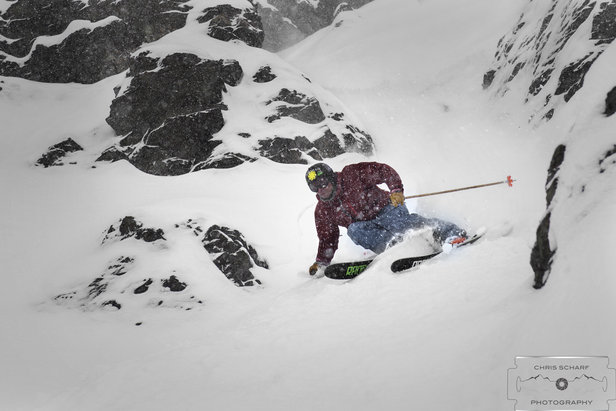 Photo Gallery: What Skiing in Portillo, Chile Looks Like Right Now - ©Chris Scharf Photography