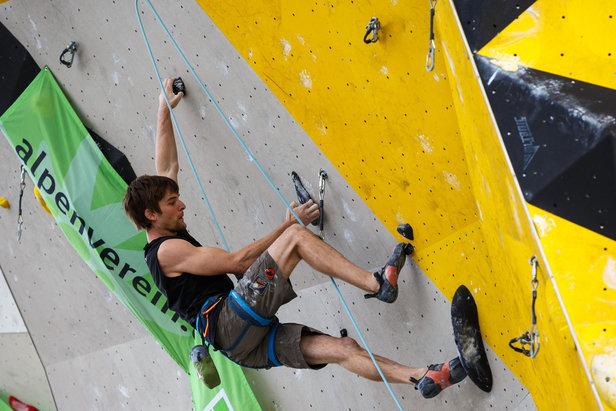 Deutscher Leadcup in Frankenthal: Hojer erneut am Start
