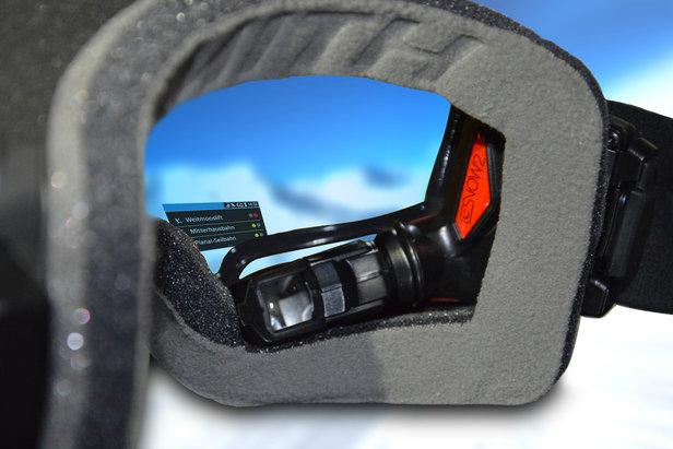 Inteligentne gogle zostały opracowane we współpracy z firmą Evolaris. - ©Ski amade