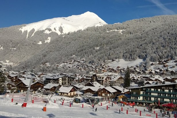 Morzine ski resort france out