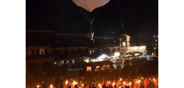 Festival des Pestacles du Père Noël / La Clusaz - ©Thierry Milherou / OT La Clusaz