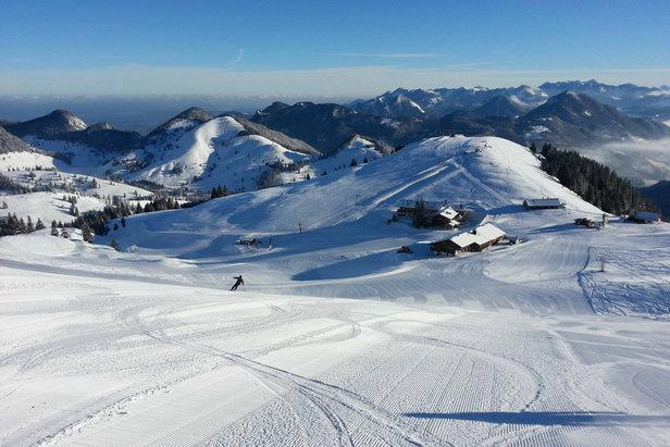 Hervorragende Pisten im Skigebiet Sudelfeld - ©Bergbahnen Sudelfeld / Karina Seyfried