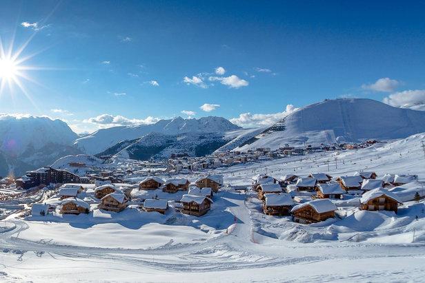 Ouverture anticip e du domaine skiable de l 39 alpe d 39 huez - Office du tourisme de l alpes d huez ...