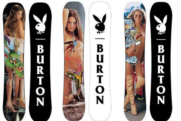 Burton Playboy Edition - ©Burton Snowboard
