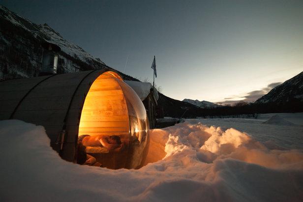 Sauna cosmic nordic la norma - ©Alban Pernet