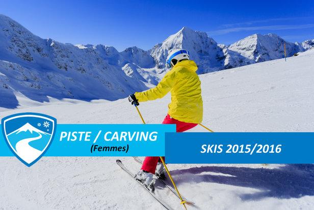 Skis de piste carving pour femmes