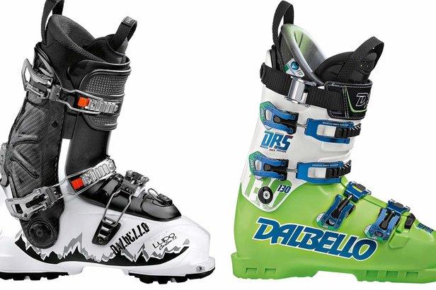 Dalbello Lupo Carbon T.I. und DRS 130 - ©Dalbello