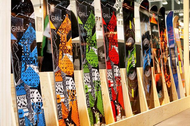 GNU Snowboards - ©Stefan Drexl