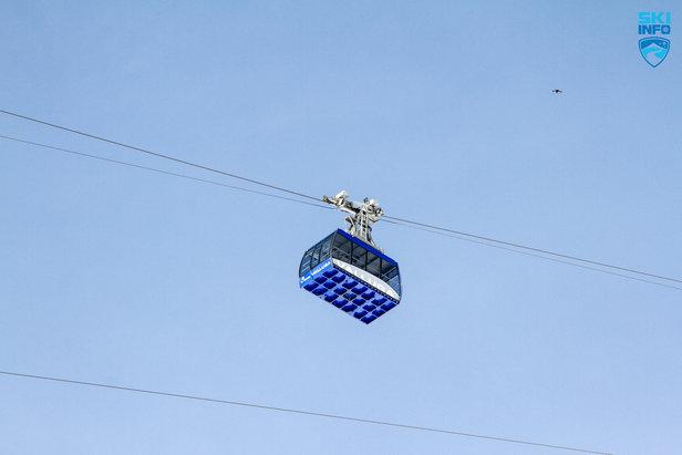 Die Valluga-Bahn bringt Skifahrer bis auf 2.811 Meter Höhe - ©Skiinfo