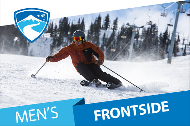 16/17 men's Frontside Skis - ©Liam Doran