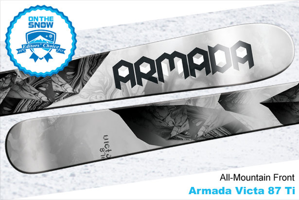 Armada Victa 87 Ti, women's 16/17 All-Mountain Front Editors' Choice ski. - ©Armada
