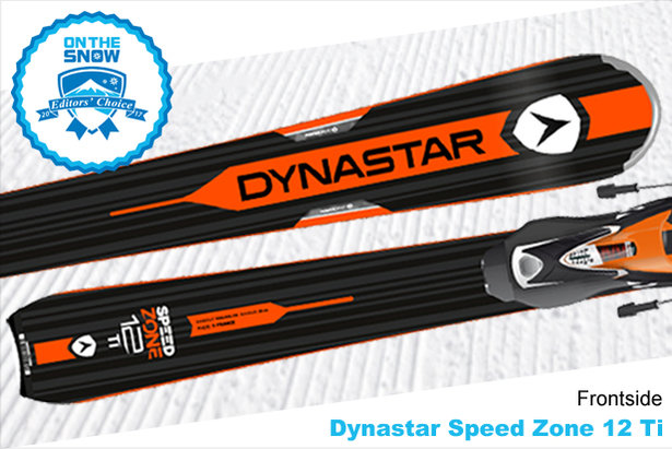 Dynastar Speed Zone 12 Ti, men's 16/17 Frontside Editors' Choice ski. - ©Dynastar